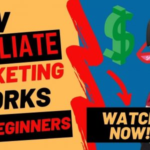 Affiliate Marketing For Beginners, VIDEO 2 -  How Does Affiliate Marketing Work For Beginners?