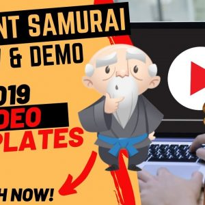 ✅ Content Samurai Review & Demo 2019 -  How to Use VIDNAMI Content Samurai to Make YouTube Videos👍