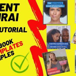 Content Samurai Demo Tutorial - How to Make Facebook Video (VIDNAMI Review UPDATE 2019)