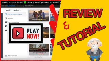 ⭐️Content Samurai Review ✅ - VIDNAMI Review: Make Videos for Your Business Easily
