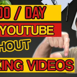 😉Earn $100 A Day On YouTube Without Creating Videos or Showing Your Face 😉 - Make Money Online