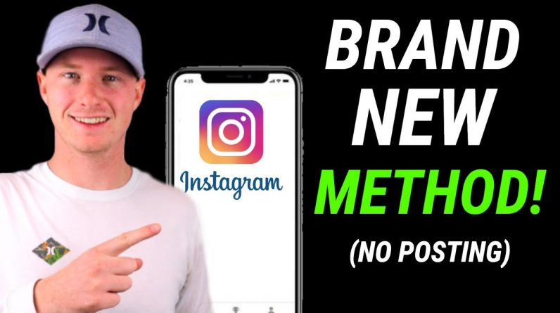 How To Make $1,000 a Month On Instagram WITHOUT Posting (2021)