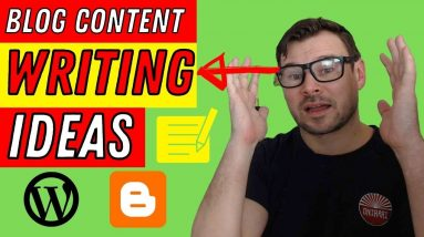Blog Content Writing Tutorial - How to Get Content Ideas for Blog