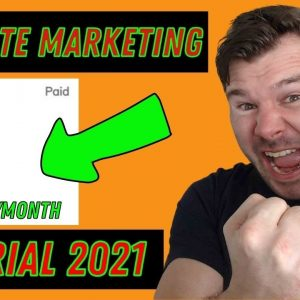 Affiliate Marketing Tutorial For Beginners 2021 Make Money Online [Step by Step Guide]