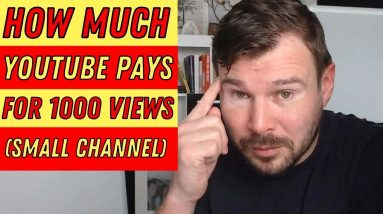 How Much Money Can You Make on YouTube for 1000 Views   Make Money with YouTube