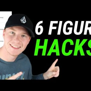 3 Six-Figure Affiliate HACKS That Will Totally Change The Way You Do Marketing!